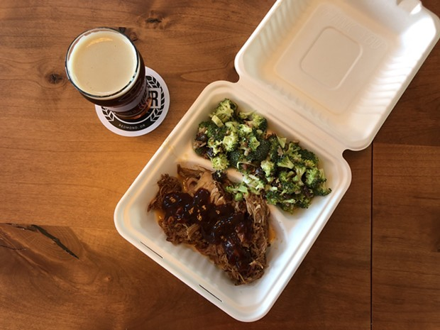 Bad Boys Barbecue has melt-in-your-mouth smoked meats with a variety of sauces. - LISA SIPE