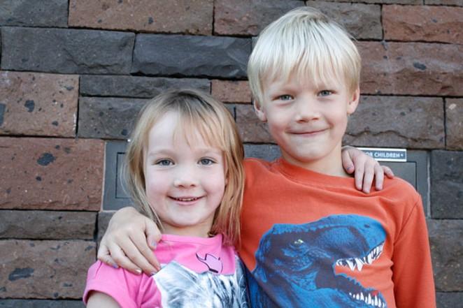 Sloan and Kellen Olson. - DANIELLE MEYERS