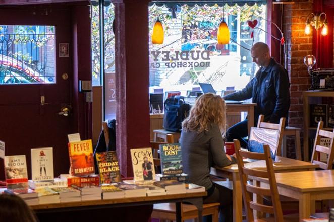 Dudley's Bookshop Cafe. - KEELY DAMARA