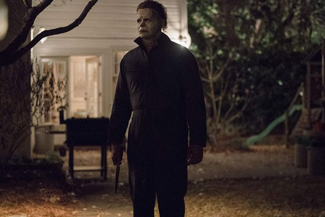 Michael Myers is not aging very well. No judgment. - PHOTO BY RYAN GREEN