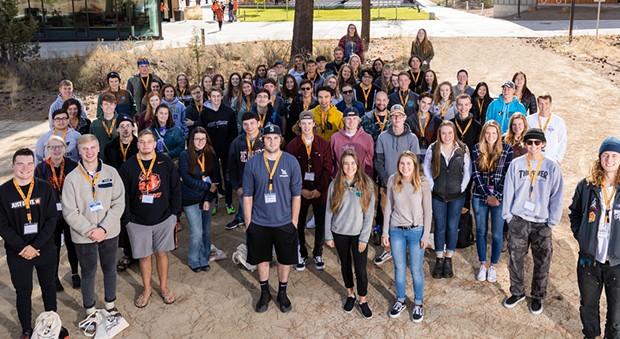 OSU-Cascades enrolled 113 first-time students this school year—64 percent of whom hail from Central Oregon. - OSU-CASCADES