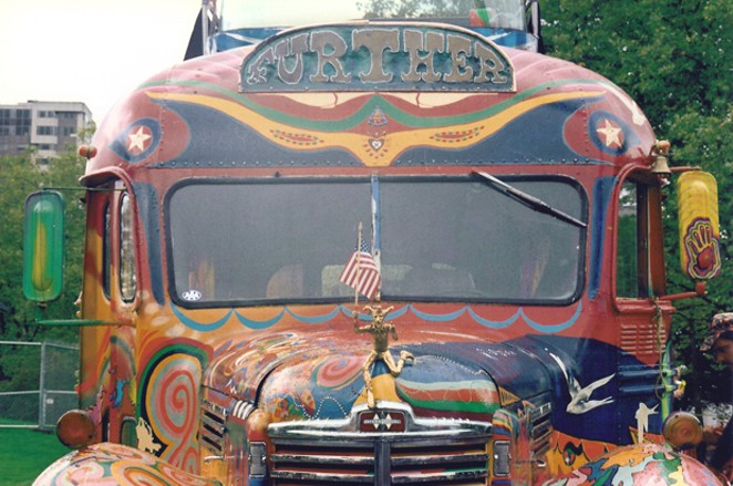 "Ken Kesey and the Merry Pranksters boarded ""Further"" for an adventure across the United States. - WIKIMEDIA COMMONS"