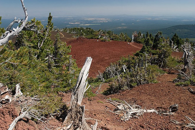 Black Crater would have a day-use permit quota of 24 permits under the plan announced today. - WIKIMEDIA