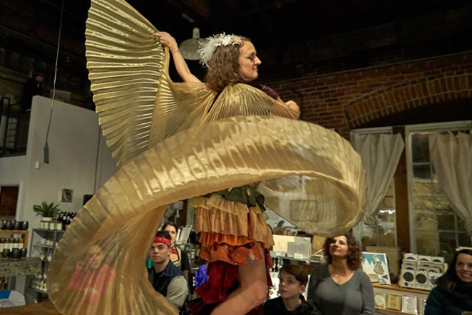 Leia Napoli is bringing a dance-focused show to Silver Moon Friday. - SUBMITTED