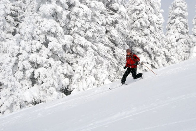 Knowledge of conditions and the signs of an avalanche make up just one part of a backcountry enthusiast's training. - NATIONAL PARK SERVICE