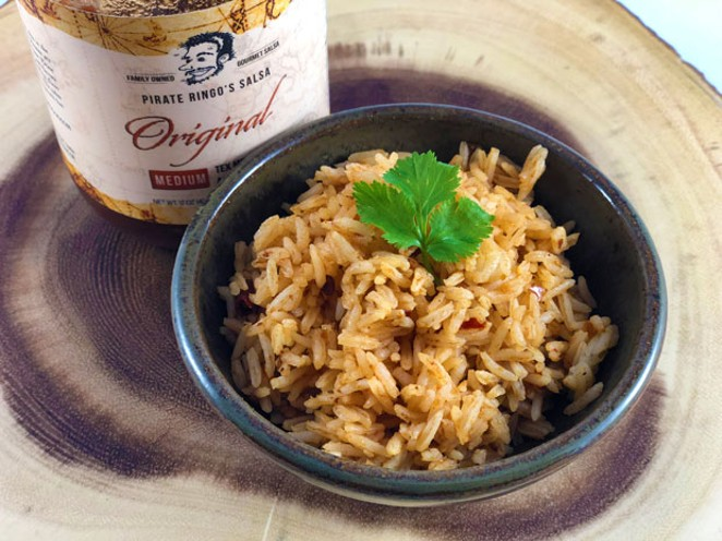 Yo Ho Ho Spanish Rice. - LISA SIPE