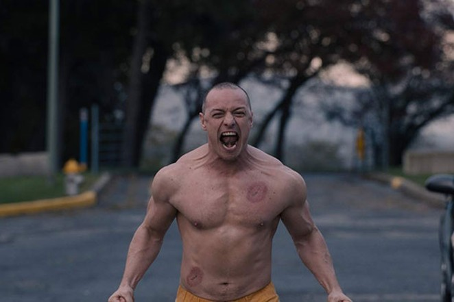 """James McAvoy in """"Glass."""" - COURTESY OF UNIVERSAL"""