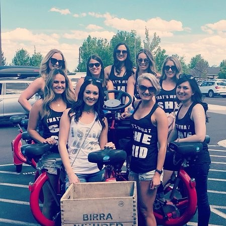 Cycle Pub: A hot spot for bachelor and bachelorette debauchery. - SUBMITTED
