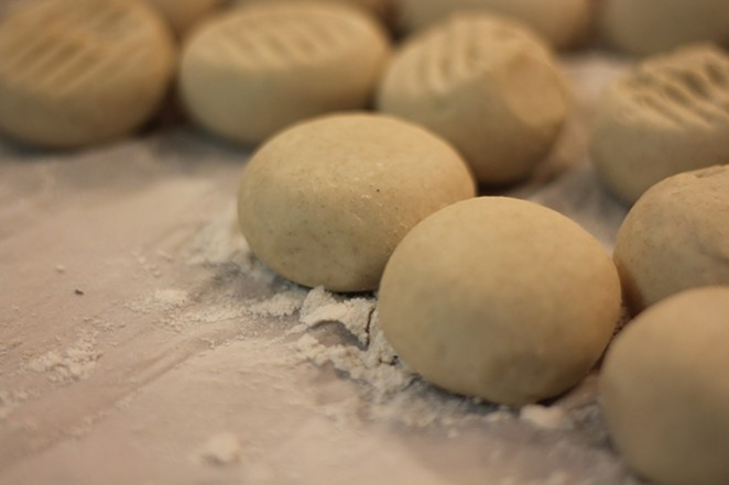 Flour tortilla balls ready for the making. - PIXABAY