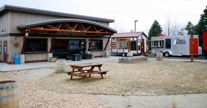 River's Place has inside and outside seating to enjoy beers and great food. - CHRIS MILLER