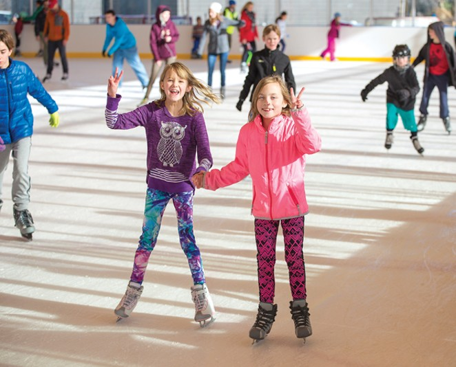 Open Skate at the Pavilion. - SUBMITTED