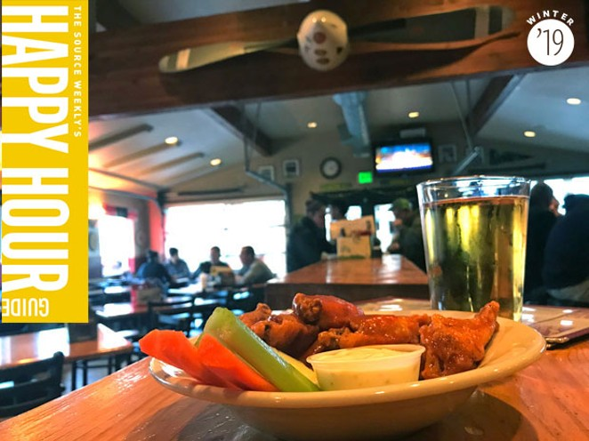 """Chicken wings on the brew house's """"Eat 4 Cheap!"""" menu - KEELY DAMARA"""