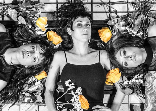 """The Coathangers' upcoming album, """"The Devil You Know"""" is set to drop March 8. - MATT ODOM"""