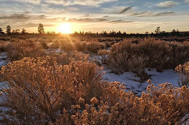 Central Oregon is beautiful this time of year! Great shot from @dupliftingart. To get your photo in Lightmeter tag@sourceweekly on Instagram! - SUBMITTED