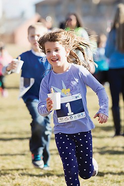 Kids Rock the Races, Hot Cocoa Run. - SUBMITTED