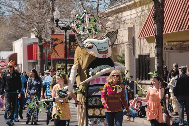 Earth Day Fair and Parade will come to downtown Bend on April 20. - SUBMITTED