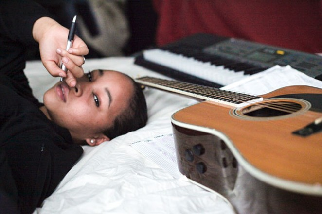 Mystic Marley, daughter of Stephen and granddaughter of Bob, is currently working on her debut album. - SUBMITTED