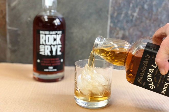 Rock and rye is a whiskey-forward cocktail in a bottle. Just add ice, or not. - LISA SIPE