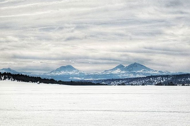 Even with overcast skies, Central Oregon can't help but look good! Great shot from @upliftingart. Tag @sourceweekly on Instagram to get featured in Lightmeter. - SUBMITTED