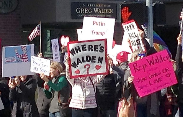 """Once It Was, """"Where's Walden?"""" Now, It Might Be, """"Where's the Dem?"""""""
