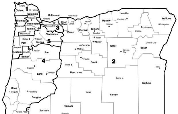Congressional District 2 is a Huge Geographic Area. Break It Up, Already.
