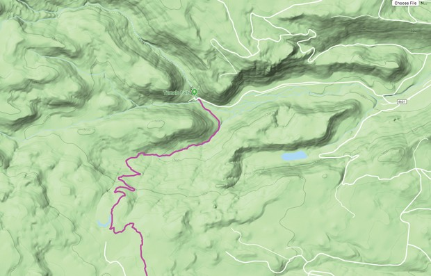 Swampy to South Fork