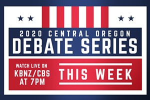 Central Oregon Debate Series starts Monday!