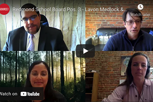 ▶ WATCH: Redmond School Board Pos. 3 - Lavon Medlock & Ron Osmundson