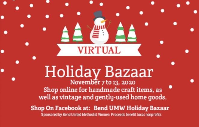 Virtual Holiday Bazaar
