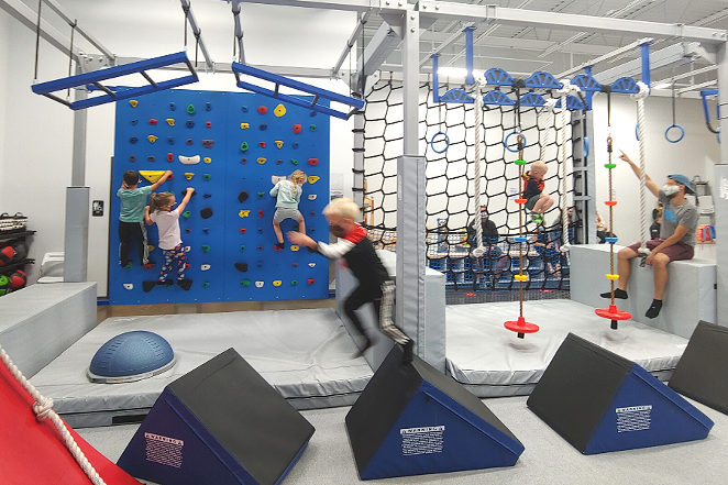 Kids Ninja Warrior Class at Free Spirit