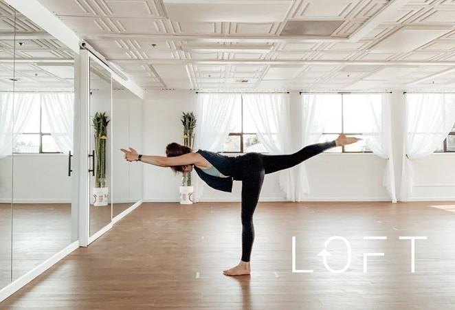 Bend's Newest Yoga Studio at LOFT