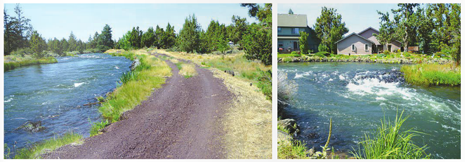 The high flow in Pilot Butte Canal may be cause for concern.