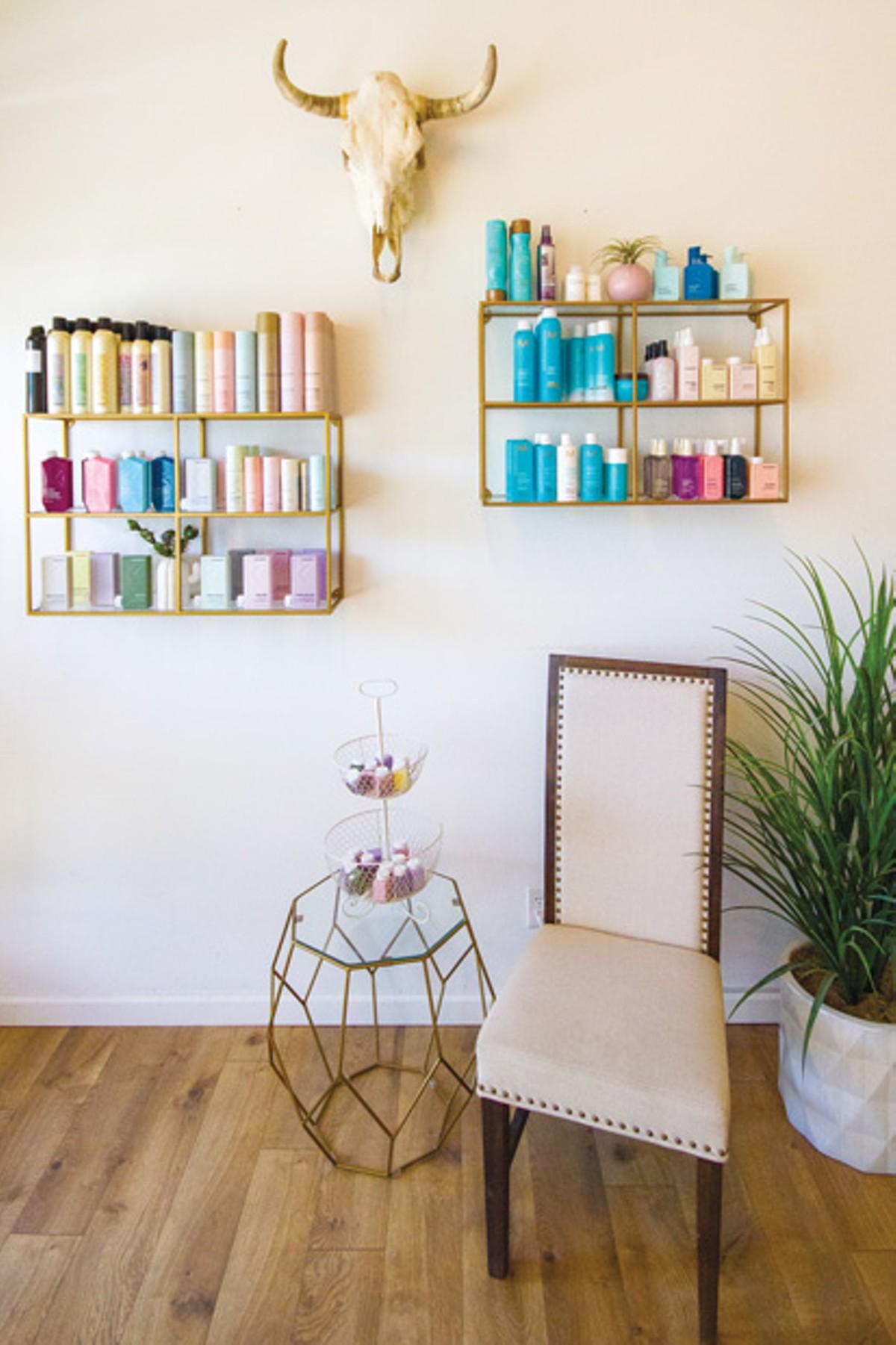 Inside Lush Salon. - DARRIS HURST