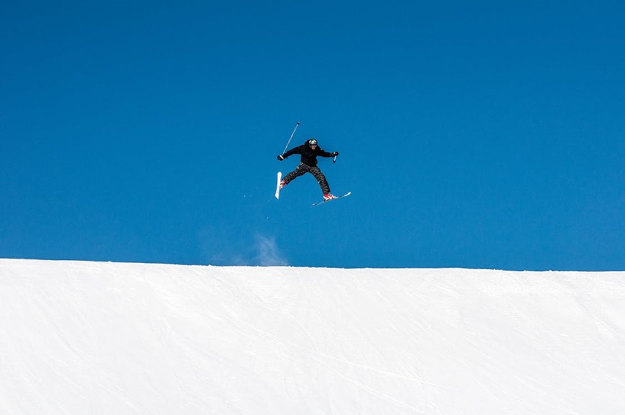 Jump for joy! Ski and snowboard season is here. - PAWEL FIJALKOWSKI, PEXELS