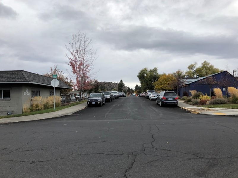 NE Hawthorne Avenue (which runs through the middle of the BCD) would likely become a major corridor, connecting the east and west sides of Bend with a pedestrian/bike bridge over Hwy. 97. - CITY OF BEND