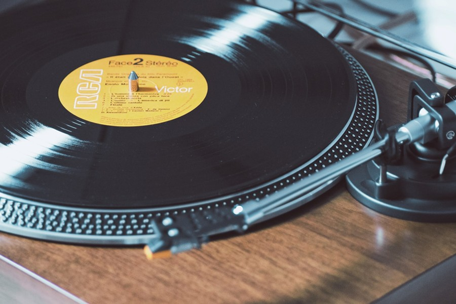 When streaming music, just pretend it's classic vinyl. It's cooler that way. - UNSPLASH