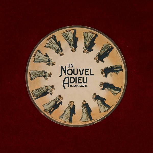 """Album artwork for """"Un Nouvel Adieu."""" - ELISHA DAVID"""