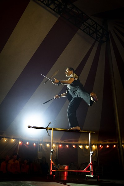 "Venardos Circus is described as a ""touring Broadway-style animal free production."" - VENARDOS CIRCUS"