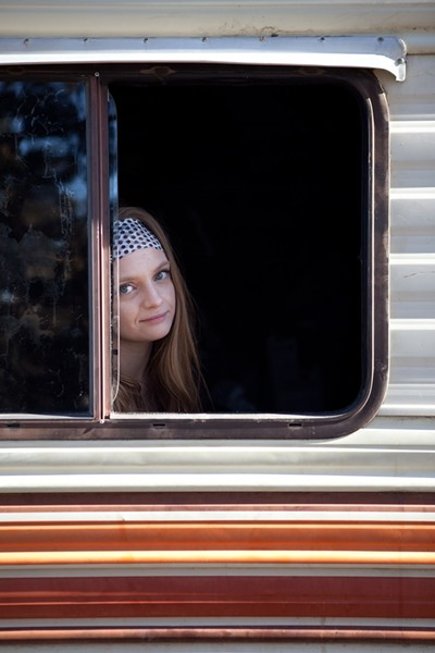 Chelsea has lived on a camper for over a year - JOSHUA LANGLAIS