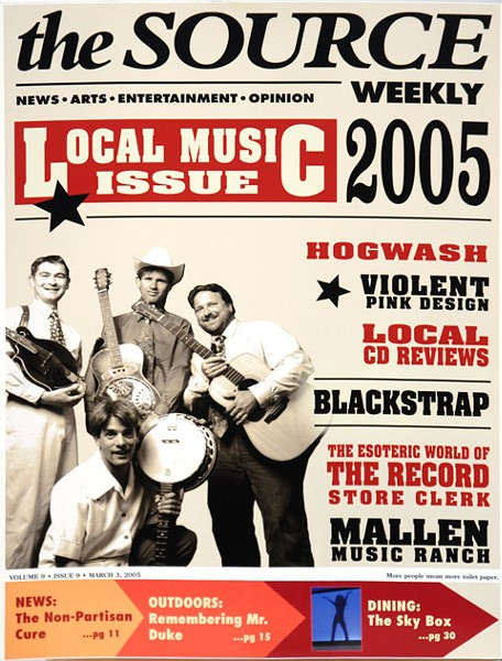 SOURCE WEEKLY COVER FROM 2005