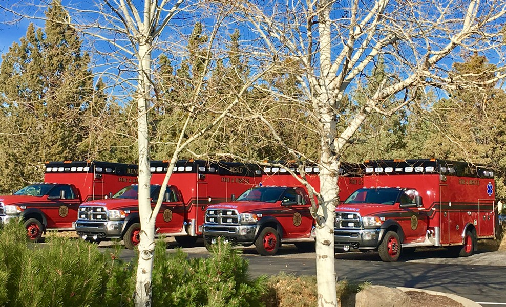 Fire Levy funds are used to staff Basic Life Support ambulances - CITY OF BEND FIRE DEPARTMENT