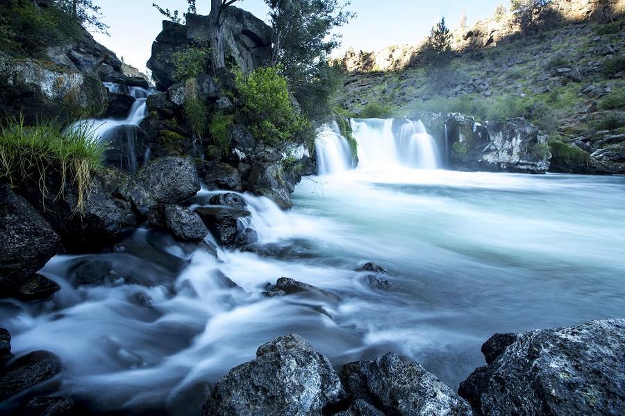 Steelhead Falls on the Deschutes River - FLICKR