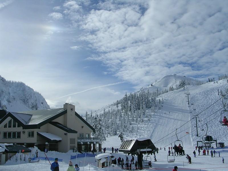Hoodoo ski area. - WIKIMEDIA