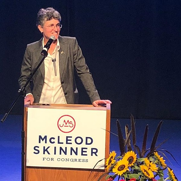 Jamie McLeod-Skinner is a former City Councilor with a law degree from the University of Oregon. - JAMIE MCLEOD-SKINNER