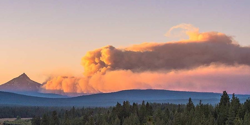 Lionshead Fire shuts down Mt. Jefferson Wilderness