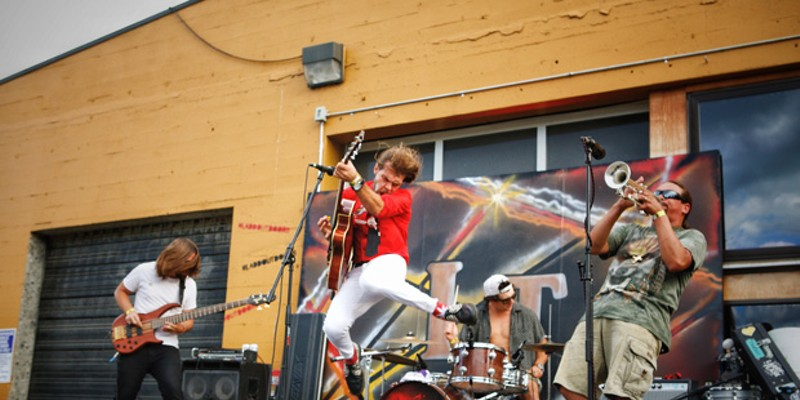 Jeshua Marshall plays Friday, Oct., 16 at the Drive-In Fest at Thump Coffee, along with Redwood Son and Matt Puccio Jr.