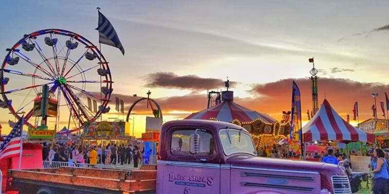 More than 35 carnival rides return to the fairgrounds.