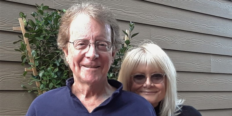 Out of Thin Air co-founders Renny Temple and Caren Kaye.