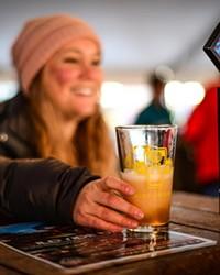 Ale Fest participants pour up samples for thirsty Bend locals.
