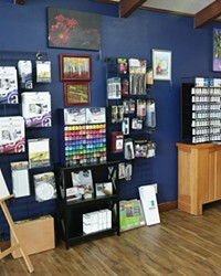 Treat the artist in your life with something from this art & music supply wall.